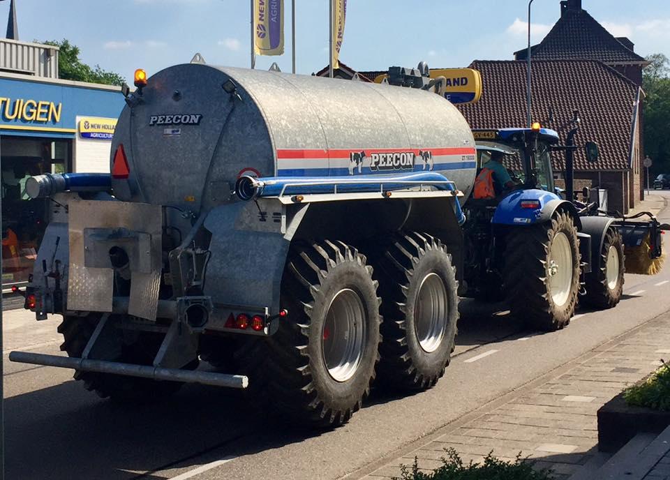 Peecon Tank van 16000 ltr